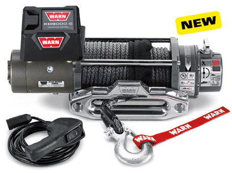 WARN XD9000 Winch with Synthetic Rope